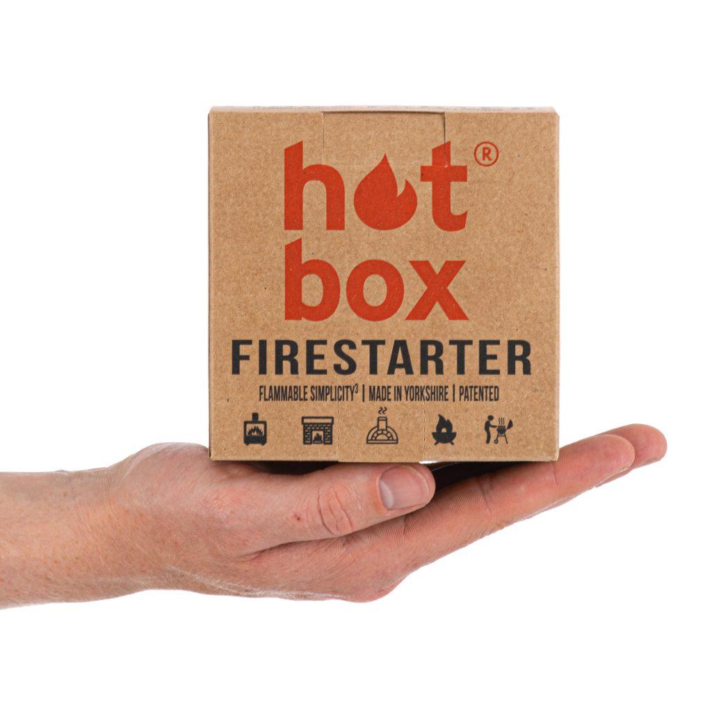 Hot Box Firestarter   Natural Firelighter   Fire Starter