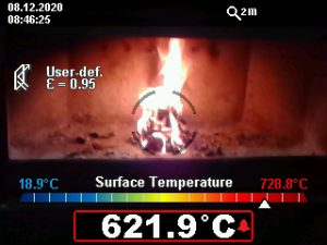 how hot is a fire