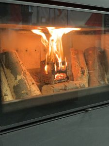 lighting a fire without kindling or firelighters